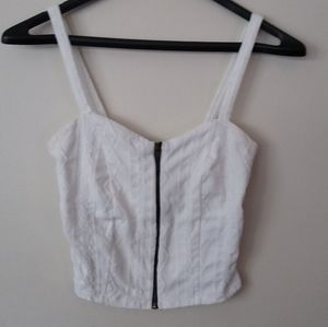Charlotte Russe Knit Crop Tank Top